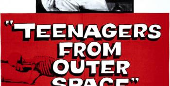 Monday Night Quarantine Theater: 'Teenagers From Outer Space'