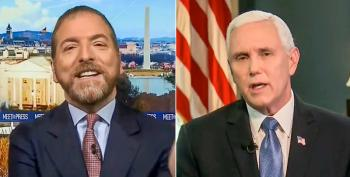 'Useless Propaganda': Chuck Todd Faces Backlash After He Admits Giving Mike Pence 'A Lot Of Leeway'