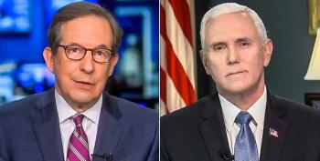 Chris Wallace Grills Mike Pence: Trump 'Fomenting Domestic Rebellion' During A Pandemic