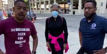 Police Pepper Spray Congresswoman Joyce Beatty, City Councillor, Others During Protest