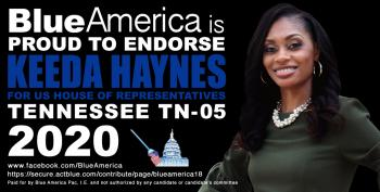 Blue America Endorsement: Nashville Needs A Political Change