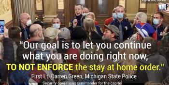 Cops Didn't Enforce Law On Anti-lockdown Protesters, COVID-19 Spread