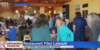 CO Restaurant Owners Who Went Viral For Crowded Mother's Day Opening Sue State