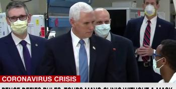 Pence Retaliates Against Reporter For Telling The Truth, That Knew He Should Wear A Mask