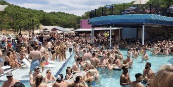 VIDEO From 'Lake Of The Ozarks' Water Park Shows People Packed Into Pools