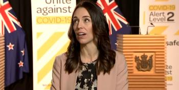 New Zealand PM Jacinda Ardern Keeps Her Cool As Live TV Interview Interrupted By Earthquake
