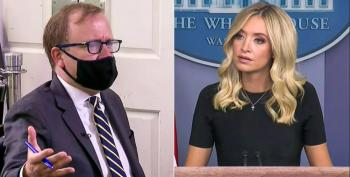 Reporter Grills Kayleigh McEnany Over Trump's Joe Scarborough Murder Smear Tweets