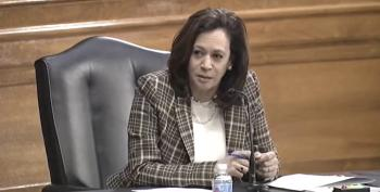 Sen. Kamala Harris Burns Down Trump's DNI Nominee Over COVID-19 Lies