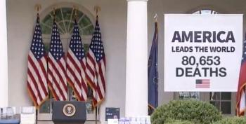 Trump's White House Has Not Learned Why You Don't Post Easily Photoshopped Banners