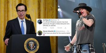 Welcome To The Jungle: Axl Rose And Steve Mnuchin Get Into A Twitter Fight