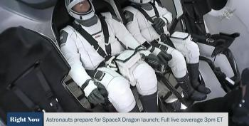SpaceX Dragon Launch Scrubbed Due To Weather