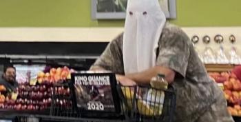 Man Wears KKK Hood While Grocery Shopping