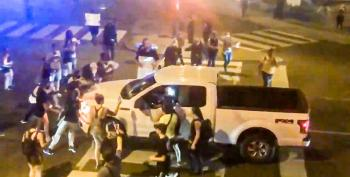 Man Drives Into At Least A Dozen Protesters In Memphis