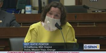 Katie Porter Grills SEC Chair: Can You Be Independent If You're Golfing Buddies With Trump?