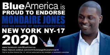 Blue America Endorsement Alert: Mondaire Jones (NY-17) For Congress