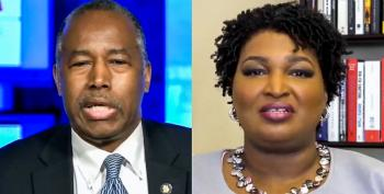 'Infantile' Ben Carson Slammed By Stacey Abrams For Saying Black People Need To 'Grow Up'