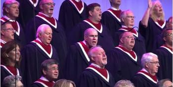 Choir Of More Than 100 Sings Unmasked At Pence's 'Freedom' Rally As Texas Sees COVID-19 Spike