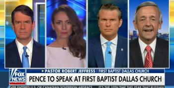 Right Wing Pastor Insists Pence's Event At His Dallas Mega-Church 'Not Political'