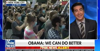 Jesse Watters: 'Quite Jarring' To Hear Obama Talk About Racism When He Was Elected Twice