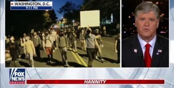 Hannity Eggs On Our Arsonist-In-Chief By Pushing For De Facto Martial Law