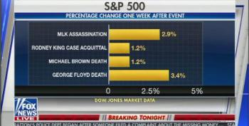 Fox News Displays Graphic Showing Stock Market Gains After Murders Of Black Men