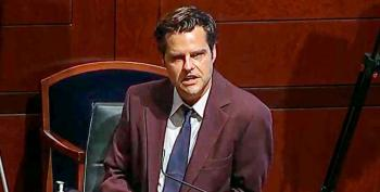 Matt Gaetz Is Sad About Protesters 'Being Ashamed' Of The Confederacy