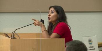 Angry 'Florida Lady' Loses Her Mind At County Council Meeting Over Masks