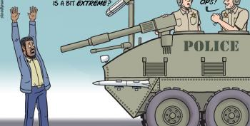Today's Cartoon:  Militarized Police