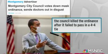 Enraged Doctors Walk Out As Montgomery City Council Kills Face Mask Ordinance