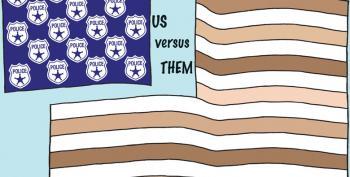 Police Vs. Them Flag