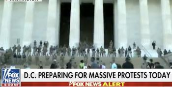 Fox's Hegseth: The Military Is 'The Reason We Have Peaceful Protests' In D.C.