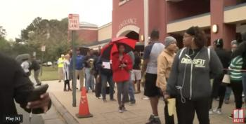 Outrageous And Obvious Voter Suppression In Georgia