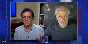 Jon Stewart Joins With Stephen Colbert To Address 'Gaping Racial Wound' Reflected In Protests