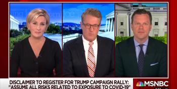 'Morning Joe' Mocks Trump's Waiver For His Tulsa Rally