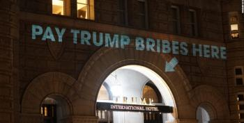 The FBI Funding Thing Is About Trump's DC Hotel, Of Course
