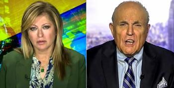 Giuliani Tries To Link George Soros To Subpoena For Trump's Tax Returns