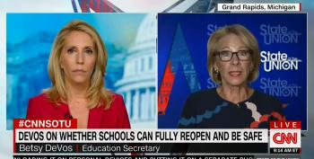 Betsy DeVos Refuses To Say Whether Schools Should Follow CDC Guidelines For Reopening