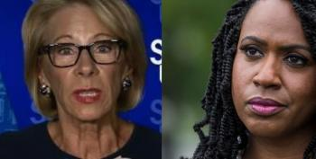 Rep. Ayanna Pressley To Betsy DeVos: 'I Wouldn't Trust You To Care For A House Plant'
