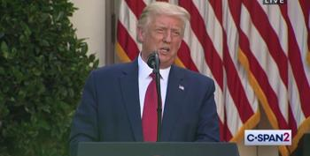 Trump Asks 'Where Is Hunter?' In Speech That Gives Reality A Solid Punch In The Face