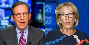 Chris Wallace Grills Betsy DeVos For Threat To Illegally Defund Schools: 'You Can't Do That'