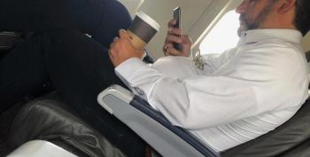 Ted Cruz Caught On Commercial Flight Not Wearing A Mask