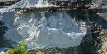 Stone Mountain Is Flashpoint At Center Of Confederate Monument Removals