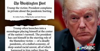 Report: Trump Paints Himself As The 'Real Victim' Of The Pandemic