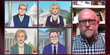 Colbert's Cartoon Team Take The Piss Out Of Rick Wilson & The Lincoln Project