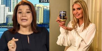Ana Navarro Stomps Ivanka's Goya Stunt: Wearing 'White Silk To Cook Black Beans'