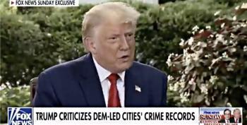 Fox News Host Destroys Trump's Racist Talking Point About Crime And Joe Biden