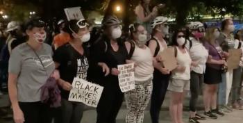 Portland Moms Gassed For Standing Up To DHS Stormtroopers