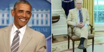 The TAN SUIT Is Back, But Guess Who's Wearing It?