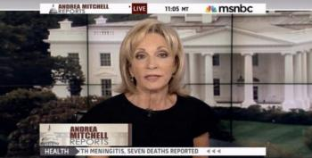 Andrea Mitchell And The Beltway Credulous Note Trump's 'New Tone'