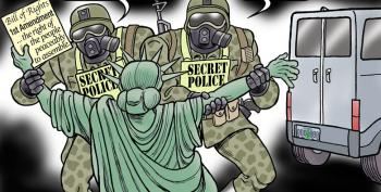 Political Cartoon Of The Day:  Secret Police